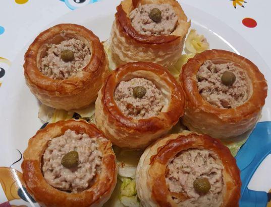 volovanes de atn - Ideas Para La Cena De Nochebuena