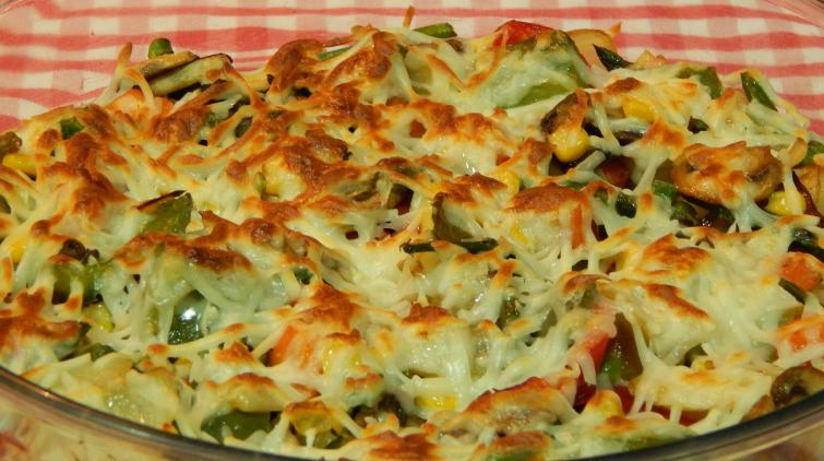 verduras gratinadas bechamel